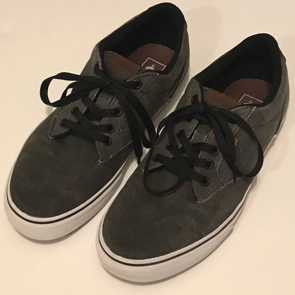 Vans Other - Very Nice Vans UltraCush Canvas Skate Shoes 10